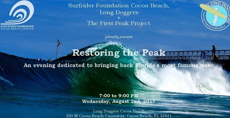 Restoring the Peak – August 2, Longdoggers CB, 7pm